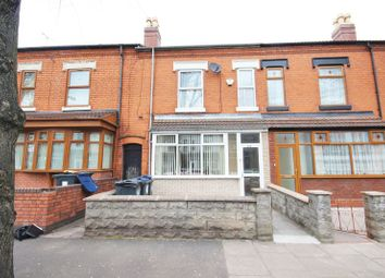 Thumbnail 4 bedroom terraced house for sale in Somerville Road, Small Heath, Birmingham