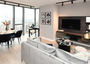 Thumbnail 2 bed flat for sale in Carrara Tower, 250 City Road, Old Street, Islington