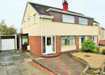 Thumbnail 3 bed semi-detached house to rent in Merlin Avenue, Bellshill, North Lanarkshire