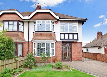 Thumbnail 3 bed semi-detached house for sale in Foreland Avenue, Cliftonville, Margate, Kent