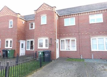 Thumbnail 3 bed town house for sale in Quorndon Terrace, Quorn, Loughborough, Leicestershire