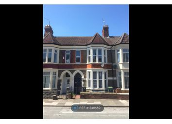 Thumbnail 3 bedroom terraced house to rent in Beda Road, Cardiff