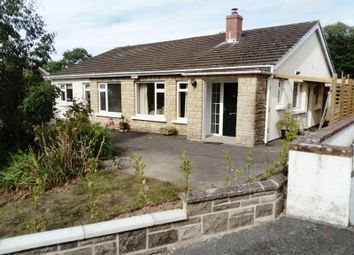 Thumbnail 4 bed detached bungalow for sale in Tower Hill, Lewis Terrace, New Quay
