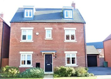 Thumbnail 4 bed detached house for sale in Towgood Close, Helpston, Peterborough, Cambridgeshire