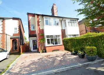 Thumbnail 4 bed semi-detached house for sale in Hazelwood Road, Woodsmoor, Stockport, Cheshire