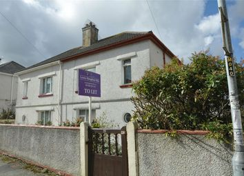 Thumbnail 3 bed end terrace house to rent in Pendarves Road, Falmouth