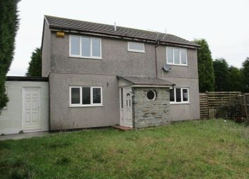 Thumbnail 3 bed detached house for sale in Barton Road, Central Treviscoe, St. Austell