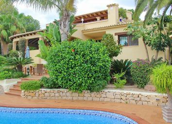 Thumbnail 7 bed villa for sale in Moraira, Alicante, Spain