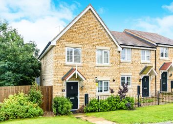 Thumbnail 3 bedroom end terrace house for sale in Benefield Road, Oundle, Peterborough
