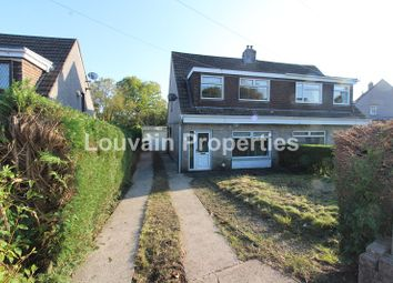 Thumbnail 3 bed semi-detached house to rent in Bush Bach, Nantybwch, Tredegar, Blaenau Gwent.