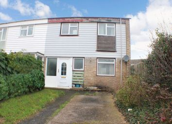 Thumbnail 3 bedroom end terrace house for sale in Norton Close, Southampton
