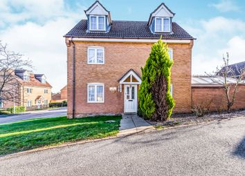 Thumbnail 4 bedroom detached house for sale in Landseer Close, Wellingborough