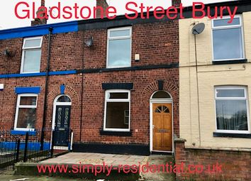 Thumbnail 2 bed terraced house to rent in Gladstone Street, Bury