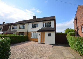Thumbnail 3 bed semi-detached house for sale in Harlestone Road, Duston, Northampton