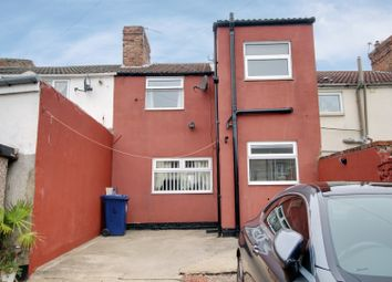 Thumbnail 3 bed terraced house for sale in West Terrace, Redcar, Cleveland