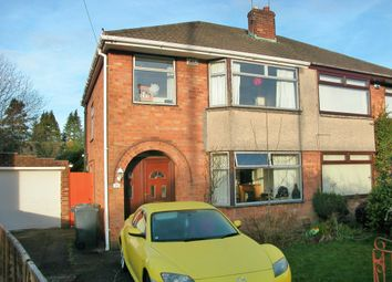 Thumbnail 3 bed semi-detached house for sale in Abbots Way, Neston