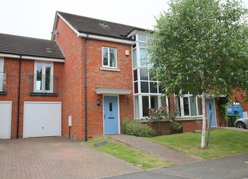 Thumbnail 4 bed town house for sale in Catlin Crescent, Shepperton