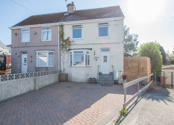 Thumbnail 3 bed semi-detached house for sale in Jubilee Road, Higher St. Budeaux, Plymouth