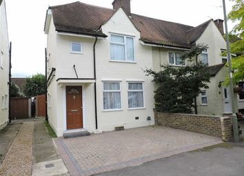 Thumbnail 3 bed end terrace house for sale in Dawson Road, Byfleet, Surrey