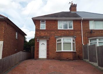 Thumbnail 3 bed semi-detached house for sale in Sudbury Grove, Birmingham, West Midlands