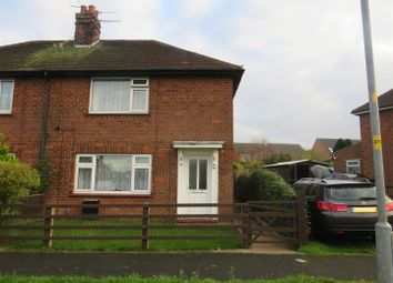 Thumbnail 2 bed semi-detached house for sale in Buckminster Gardens, Grantham