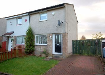 Thumbnail 2 bedroom semi-detached house for sale in Hallside Crescent, Cambuslang, Glasgow