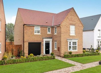 "Thumbnail 4 bed detached house for sale in ""Drummond"" at Overstone Road, Sywell, Northampton"