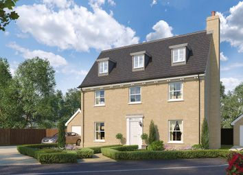 Thumbnail 5 bedroom detached house for sale in The Burdock, Reach Road, Burwell, Cambridgeshire