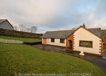 Thumbnail 3 bed bungalow to rent in Llangwyryfron, Aberystwyth, Ceredigion