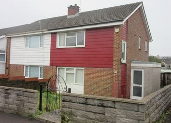 Thumbnail 2 bed semi-detached house to rent in Samuel Crescent, Gendros, Swansea