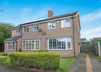 Thumbnail 2 bedroom semi-detached house for sale in Churchfield Drive, Wigginton, York