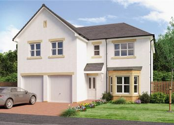"Thumbnail 5 bedroom detached house for sale in ""Jura"" at Broomhouse Crescent, Uddingston, Glasgow"