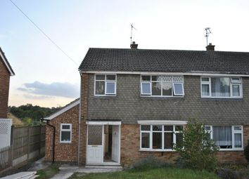 Thumbnail 3 bed semi-detached house to rent in Derwent Walk, Oadby