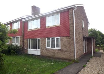 Thumbnail 1 bed flat to rent in Seaham Gardens, Gateshead