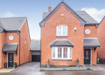 Thumbnail 3 bed detached house for sale in Mill Field Avenue, Countesthorpe, Leicester