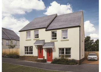 Thumbnail 2 bed semi-detached house for sale in Plots 38 & 39 Canes Orchard, Daisy Park, Brixton, Devon