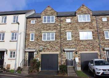 Thumbnail 4 bed town house for sale in Gwithian Road, St. Austell