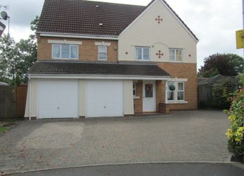 Thumbnail 7 bed detached house for sale in Snowdrop Close, Bedworth