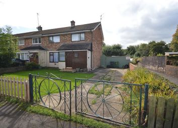 Thumbnail 2 bed end terrace house to rent in Caernarvon Crescent, Llanyravon, Cwmbran