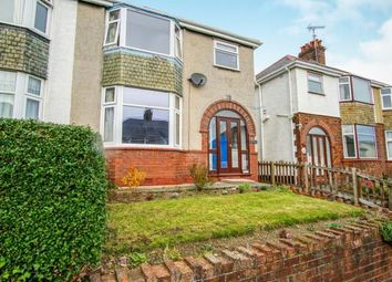 Thumbnail 3 bed semi-detached house for sale in Belmont Avenue, Bangor, Gwynedd, North Wales