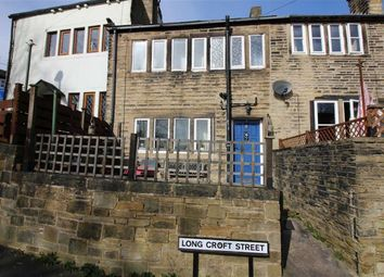 Thumbnail 2 bedroom terraced house for sale in Longcroft Street, Golcar, Huddersfield
