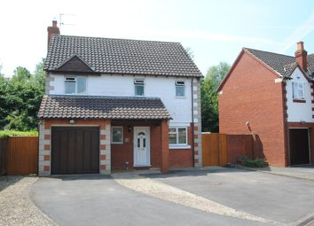 Thumbnail 3 bed detached house for sale in Delphinium Drive, Bishops Cleeve, Cheltenham