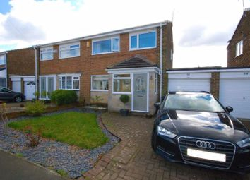 Thumbnail 3 bed semi-detached house for sale in Horsley Avenue, Crawcrook, Ryton