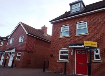 Thumbnail 3 bed property to rent in Withy Close, Romsey
