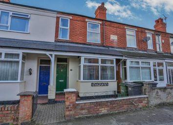 Thumbnail 2 bed terraced house for sale in Curzon Avenue, Carlton, Nottingham, Nottinghamshire