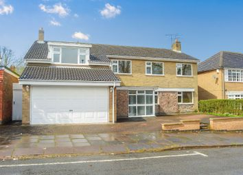 Thumbnail 6 bed detached house for sale in Dovedale Road, Stoneygate, Leicester