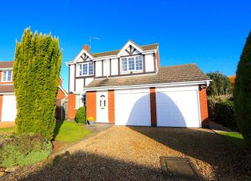 Thumbnail 4 bed detached house for sale in Seymour Way, Leicester Forest East, Leicester