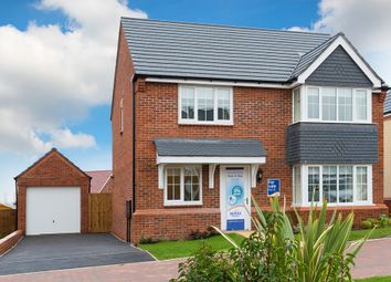 "Thumbnail 4 bed detached house for sale in ""The Canterbury"" at Stafford Road, Eccleshall, Stafford"