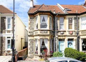 Thumbnail 4 bed end terrace house for sale in Seymour Road, Bishopston, Bristol