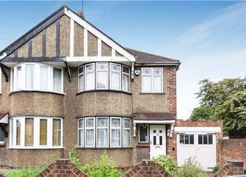 Thumbnail 3 bed end terrace house for sale in Homefield Gardens, Mitcham, Surrey